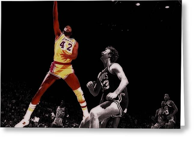 James Worthy Greeting Card by Brian Reaves