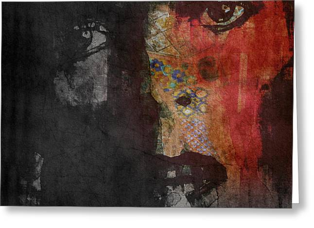 Jamming Good With Wierd And Gilly Greeting Card by Paul Lovering