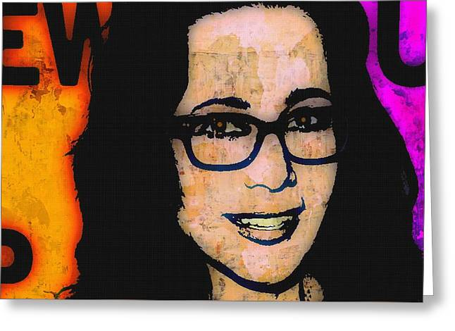 Janeane Garofalo 2 Greeting Card by Otis Porritt