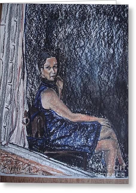 Janela Greeting Card by Ana Picolini
