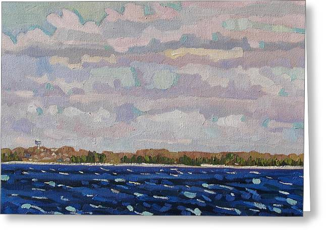 Janes Sky Greeting Card by Phil Chadwick
