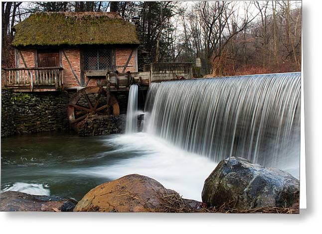 January Morning At Gomez Mill #2 Greeting Card by Jeff Severson