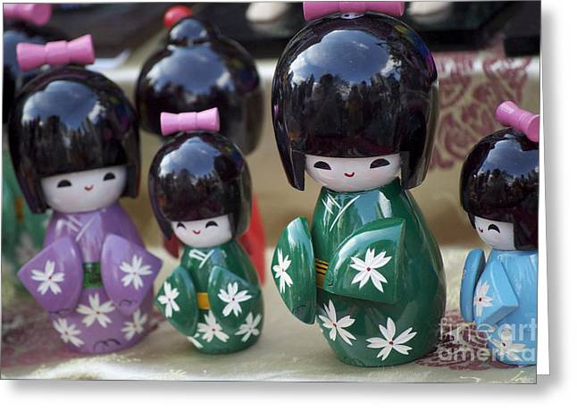 Japanese Dolls Greeting Card