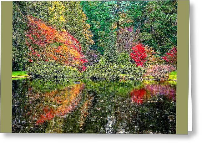 Japanese Garden Digital Greeting Card