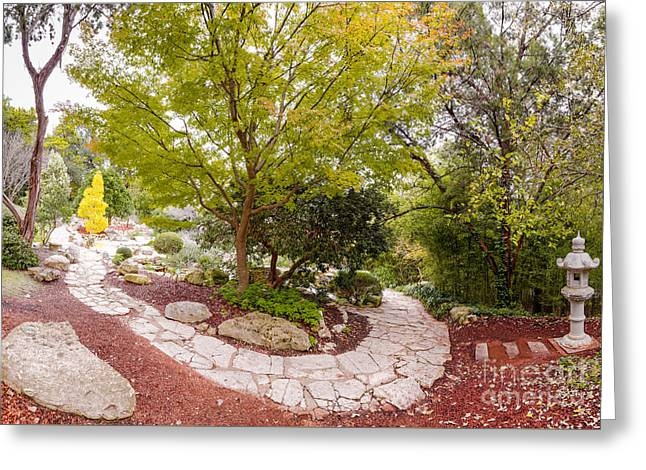 Japanese Garden Serenity At Zilker Botanical Gardens - Austin Texas Hill Country Greeting Card by Silvio Ligutti