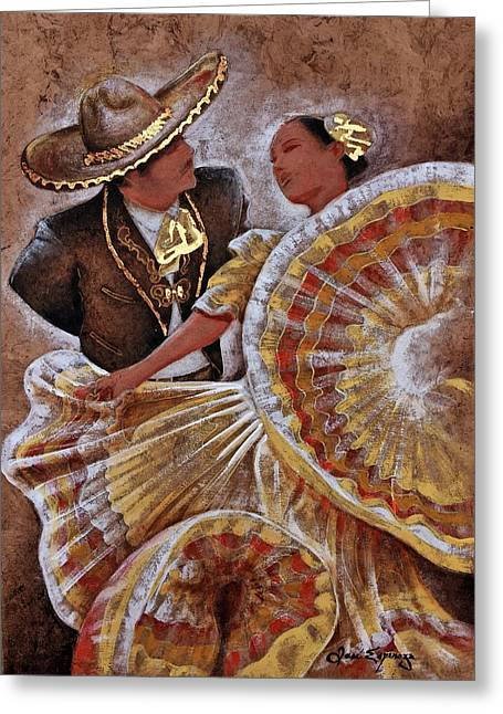 Jarabe Tapatio Dance Greeting Card