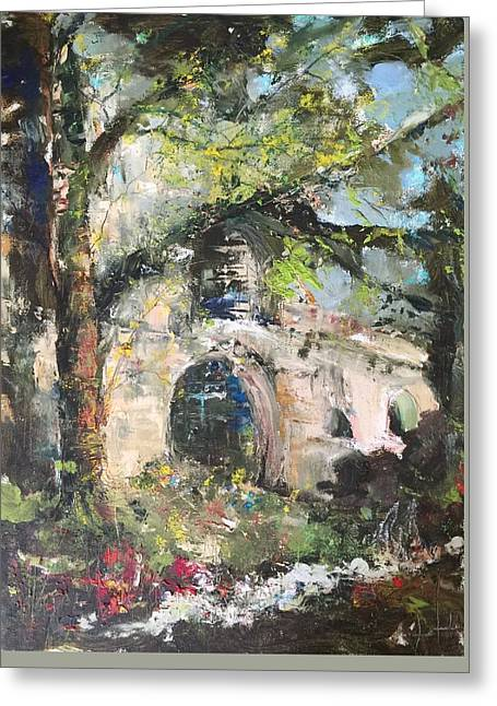Jardin D'au Paradis  Greeting Card