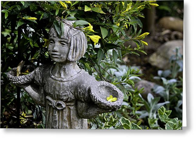 Jasmine Statue Greeting Card by Teresa Mucha