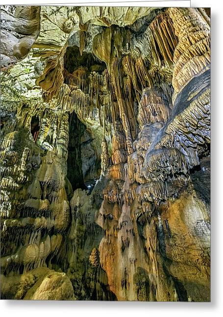 Jasovska Cave, Jasov, Slovakia Greeting Card