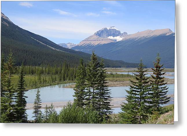 Jasper Alberta Greeting Card
