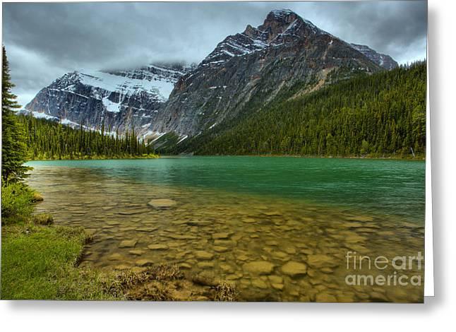 Jasper Cavell Lake Greeting Card