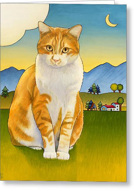 Jasper Greeting Card by Stacey Neumiller