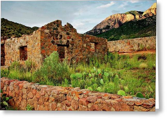 Jaun Tabo Cabin, Albuquerque, New Mexico Greeting Card
