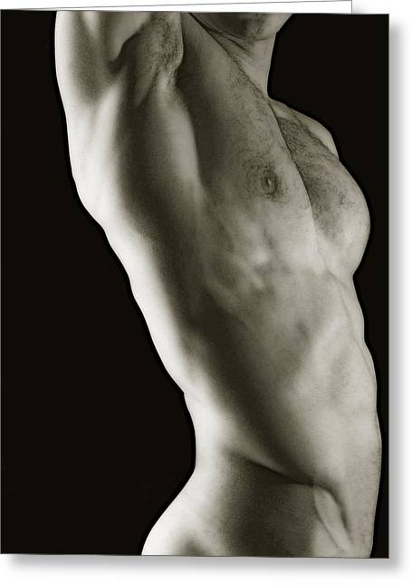 Javier Torso 2 Greeting Card