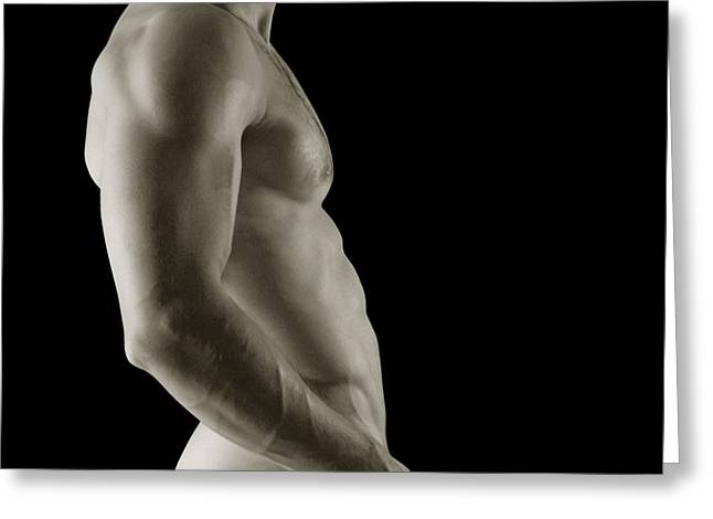 Javier Torso 3 Greeting Card