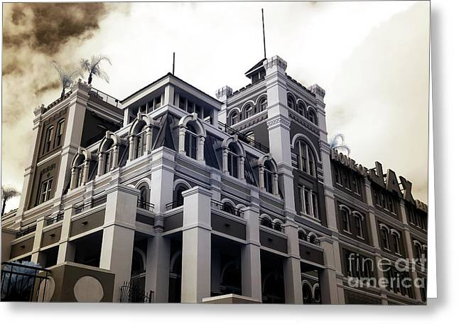 Jax Brewery Infrared Greeting Card by John Rizzuto