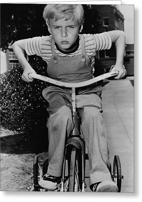 Jay North As Dennis The Menace 1959 Greeting Card