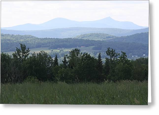 Jay Peak From Irasburg Greeting Card