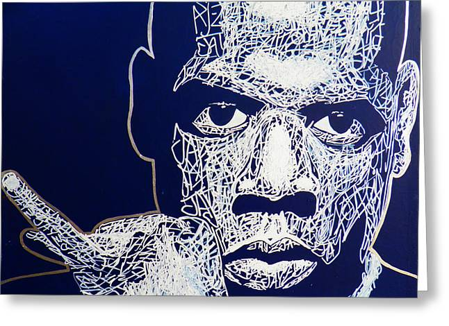 Jay-z Greeting Card by Visual Poet