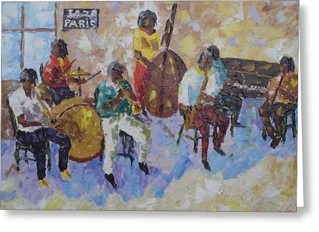 Jazz In Paris Greeting Card