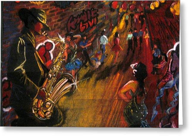 Jazz It Up Greeting Card