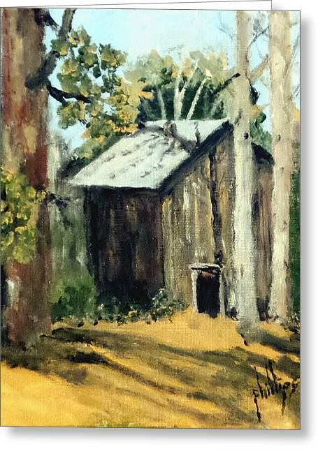 Jd's Backker Barn Greeting Card by Jim Phillips