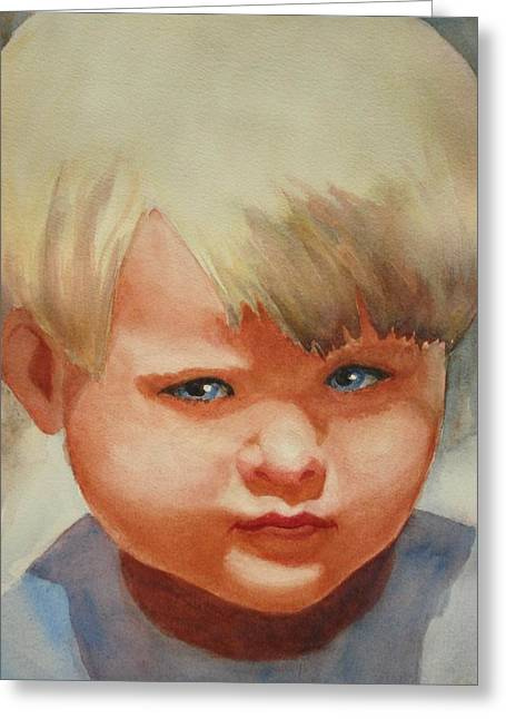 Jean Greeting Card by Marilyn Jacobson