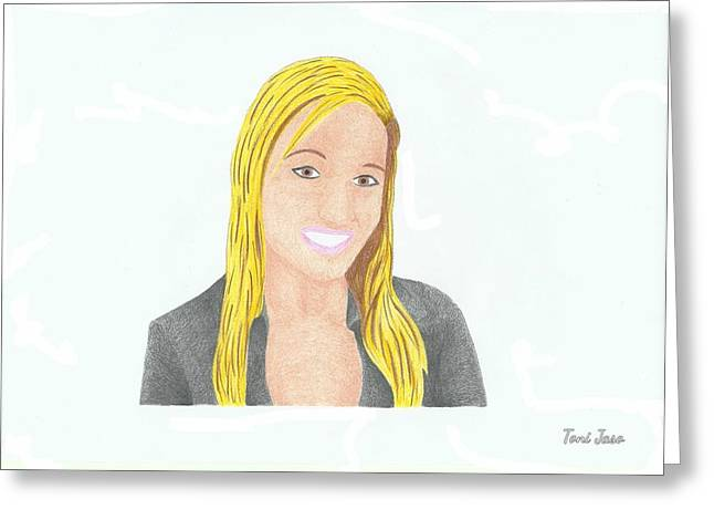 Jeana Smith - Pvp Greeting Card