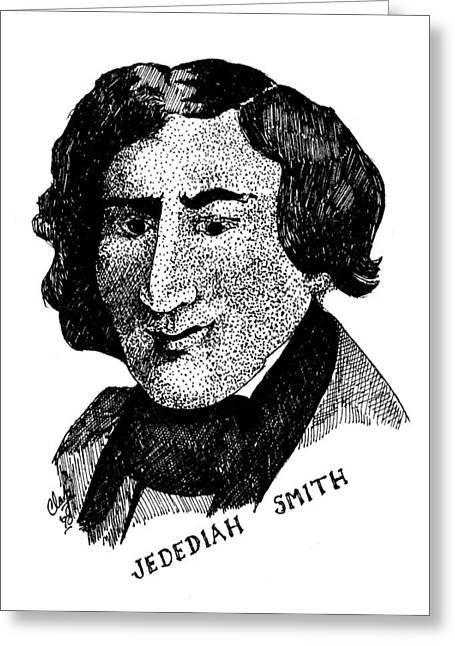 Jedediah S. Smith Greeting Card