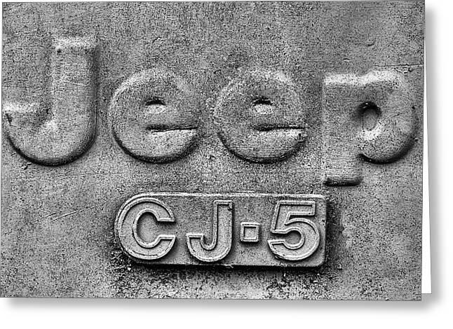 Jeep Cj-5 Greeting Card by JC Findley