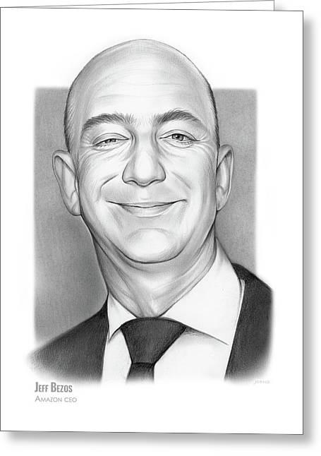 Jeff Bezos Greeting Card
