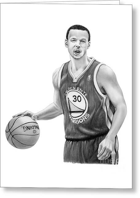 Stephen Curry Greeting Cards Fine Art America