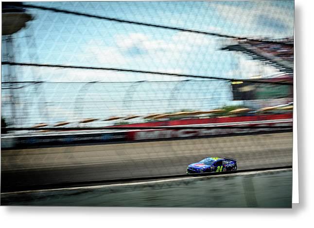 Jeff Gordon's Last Race At Mis Greeting Card