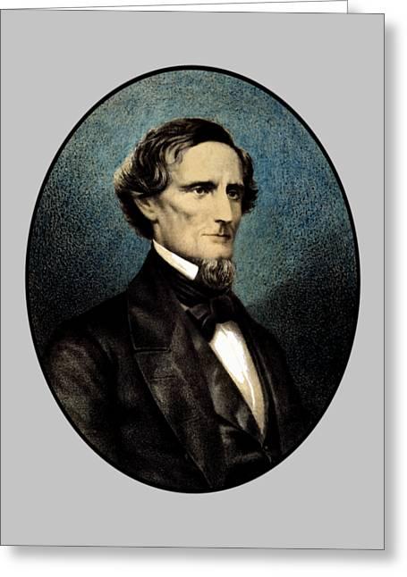 Jefferson Davis Greeting Card