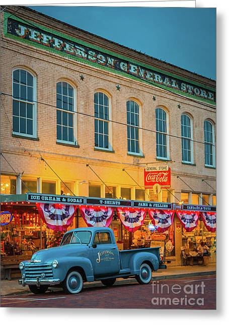 Jefferson General Store Greeting Card