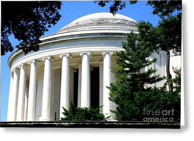 Jefferson Memorial 4 Greeting Card
