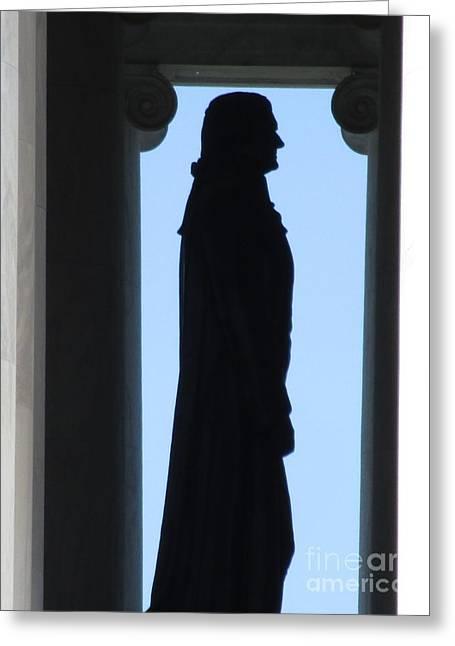 Jefferson Memorial 6 Greeting Card