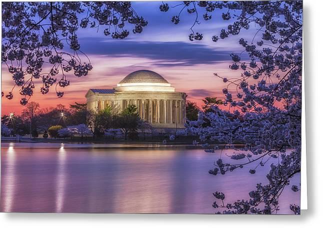 Jefferson Memorial Pre-dawn Greeting Card