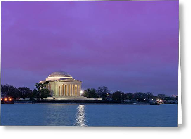 Jefferson Monument Greeting Card by Sebastian Musial