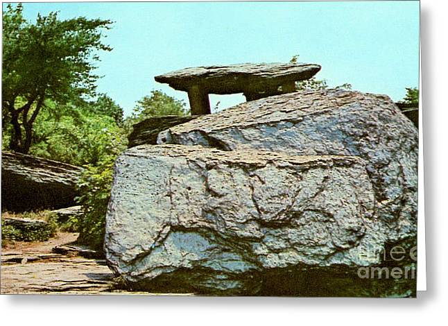 Jefferson Rock  Greeting Card by Ruth  Housley