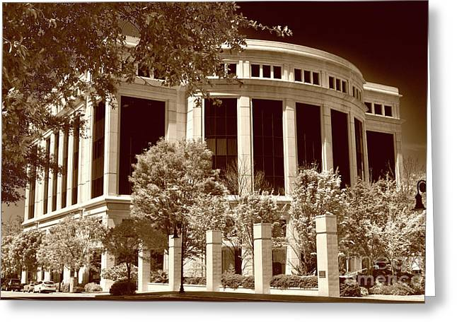 Jeffersonian Greeting Card by Skip Willits