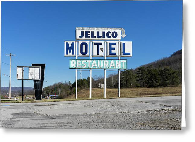 Jellico Motel Greeting Card