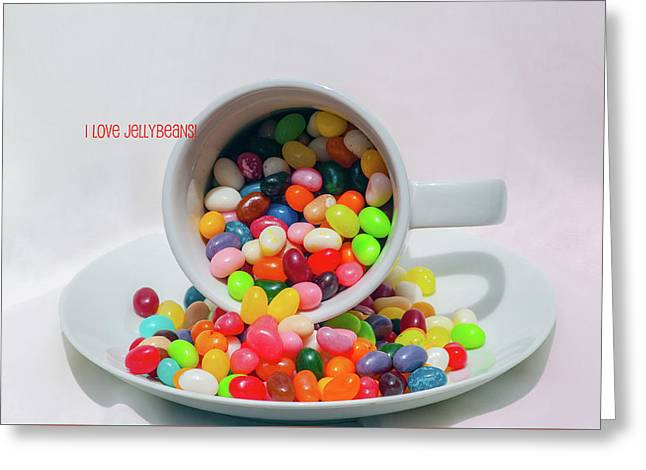 Greeting Card featuring the photograph Jelly Beans by Carolyn Dalessandro