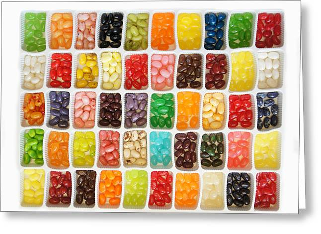 Jellybeans Greeting Card