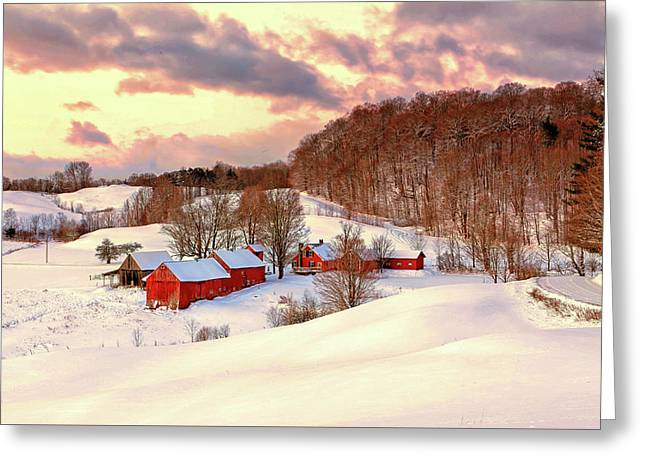 Jenne Farm After The Storm Greeting Card
