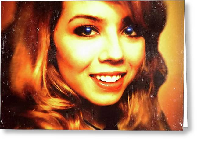 Jennette Mccurdy - Beautiful Greeting Card by Robert Radmore