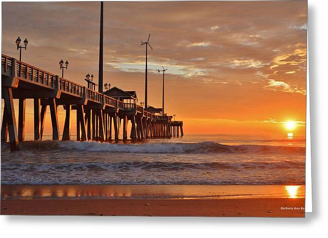 Jennettes  Pier Greeting Card