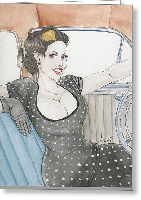 Jennifer Curlee Greeting Card
