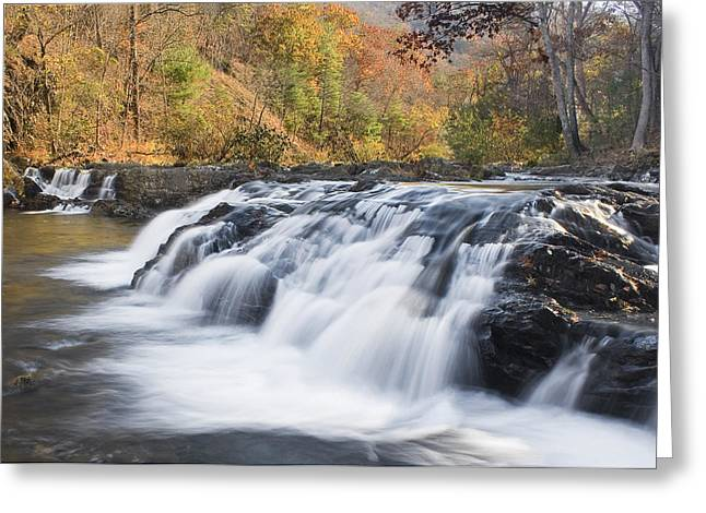 Greeting Card featuring the photograph Jennings Creek by Alan Raasch