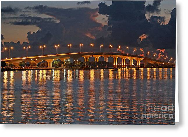 Jensen Beach Causeway Greeting Card